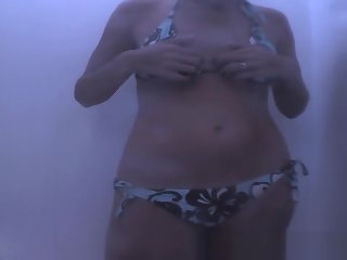 Incredible Changing Room, Spy Cam, Beach Clip Uncut