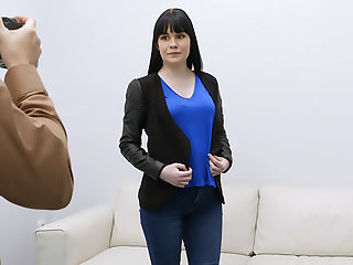 Perky tits shy amateur casting