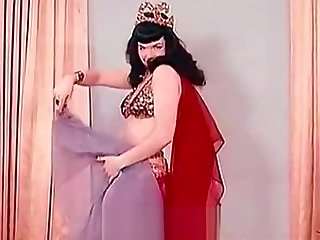 Sensitive Belly Dance of a Hot Pornstar (1950s Vintage)