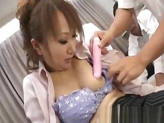 Anna Mizukawa Naughty Asian model gets part5