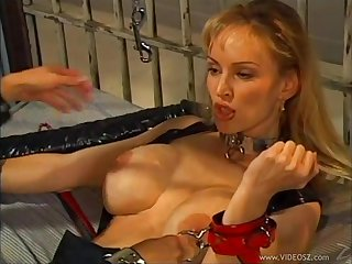 Lovely porn lesbian sweethearts in naughty pussy sex toy insertions