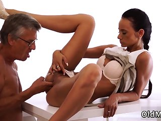 New daddy Finally she's got her manager dick