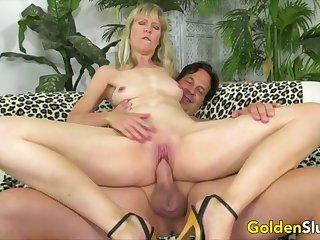 Golden Slut - Horny Older Cowgirls Compilation Part 5