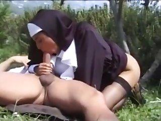 Unholy Sister Karina White Outdoor Sex