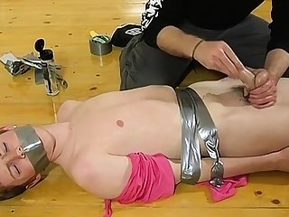 Free gay twink bondage movie tube The skimpy man gets his