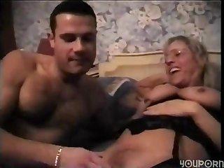 Old Housekeeper amateur MILF porn video