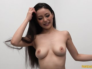 Asian with fine forms, most addictive cam shag