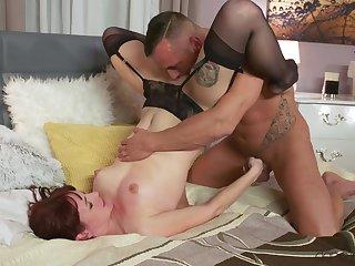 Sensual vaginal and anal sex with slender girlfriend Elena Vega