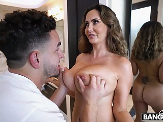 MILF experienced deepest missionary with the stepson
