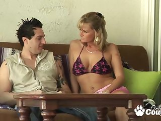 Horny Milf Becca Blossoms prominent head coupled with gets banged hard