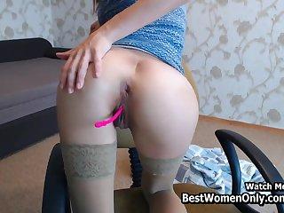 Arab Babe Masturbation In Cam Show in Bedroom