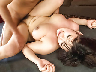 Chihiro Manaka gets cocks in each of her moist holes - More at javhd.net