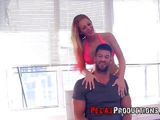 silicone girl Kelly Lee adores dirty fuck with her horny friend