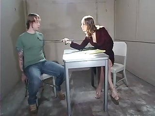 Male humiliation video featuring cruel mistress with strapon Amber Rayne