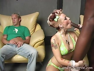 Classic Candy Monroe video where she gets fucked by a big black dick